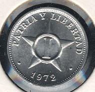 Kuba, 1 Centavo 1972, UNC - Cuba