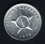Kuba, 1 Centavo 1970, UNC - Cuba