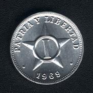 Kuba, 1 Centavo 1969, UNC - Cuba