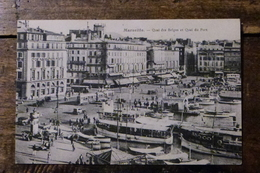 13, MARSEILLE, QUAI DES BELGES ET QUAI DU PORT - Alter Hafen (Vieux Port), Saint-Victor, Le Panier