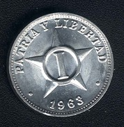 Kuba, 1 Centavo 1963, UNC - Cuba