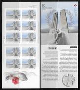 CANADA 2017.  CENTENARY Of The BATTLE Of VIMY RIDGE, Booklet  See Info Below - Volledige Boekjes