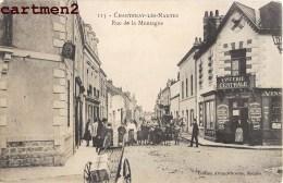 CHANTENAY-LES-NANTES RUE DE LA MONTAGNE TRES ANIMEE EPICERIE CENTRALE  44 - France