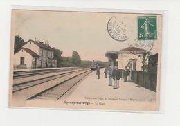 EPINAY SUR ORGE  91 LA GARE - Epinay-sur-Orge