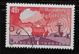 DAHOMEYN 1970   CTO,  # 269    ASECNA  With Gum - Bénin – Dahomey (1960-...)