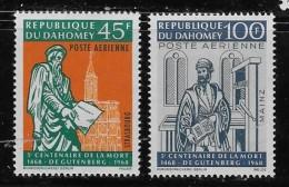 DAHOMEY 1968   MH,  # C67-8    EXPLORATION Of The PLANET VENUS  MH - Bénin – Dahomey (1960-...)
