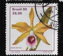 BRAZIL, 1980 USED # 1714   Laelia Tenebrosa         Used - Brésil