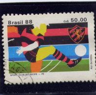 BRAZIL, 1988 USED # 2146    Soccer    Used - Brésil