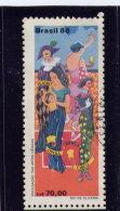 BRAZIL, 1988 USED # 2160     Performing Arts - Brésil