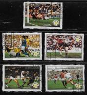 BELIZE  1982, CTO     # B2-6    WORLD CUP SOCCER CHAMPIONSHIP    Set Incomplete - Belize (1973-...)