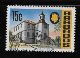 Barbados 1970, USED   # 337 Sharon Moravian Church     USED - Barbades (1966-...)