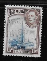 Bermuda  1938-51, Used # 119, HAMILTON HARBOUR         USED - Bermudes