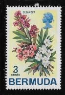 Bermuda  1970, MH,  # 257,  FLOWERS: Oleander  Mh - Bermudes