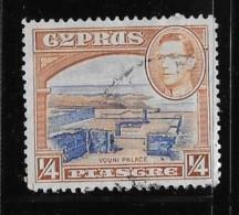 CHYPRUS, 1938-44, USED, # 143, Ruins Of Vouni Palace  Used - Chypre (République)