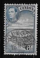 CEYL0N, 1935-6, USED # 266, COLOMBO HARBOR  USED HINGED - Sri Lanka (Ceylan) (1948-...)
