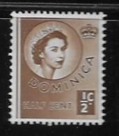 DOMINICA  1954, MNH # 142  Queen Elizabeth 11 Coronation Issue Mnh - Dominique (1978-...)