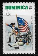 DOMINICA  1976, MNH # 472    American Infantry - Dominique (1978-...)