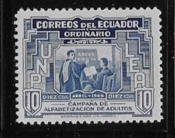 ECUADOR  1946, MH, #465, Instructor & Student     MH - Equateur