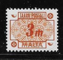 MALTA 1973 MNH # J33, NUMERAL  MNH - Malte