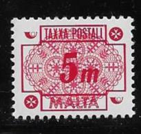 MALTA 1973 MNH # J34, NUMERAL  MNH - Malte