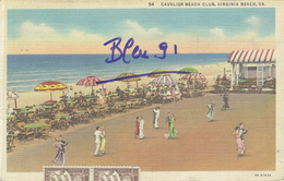 VIRGINIA BEACH, CAVALIER BEACH CLUB 1937 - Virginia Beach