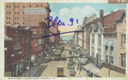 NORFOLK, MAIN STREET 1936 - Norfolk