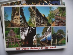 Thailand The Death Railway In WW II - Thailand