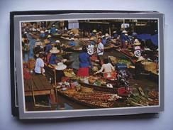 Thailand Rajchaburi Floating Market - Thailand