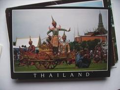 Thailand Classical Dancing Ramayana Story - Thailand
