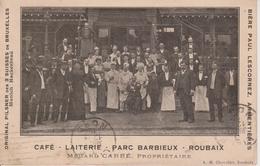 59 - ROUBAIX - CAFE - LAITERIE - PARC BARBIEUX - BEAU PLAN - Roubaix