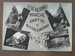 SAN SEVERINO MARCHE - GROTTE DI S.EUSTACHIO-  VEDUTE   -   -BELLA - Italie