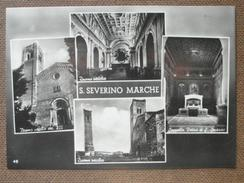 SAN SEVERINO MARCHE -1957 -  VEDUTE   -   -BELLA - Italy
