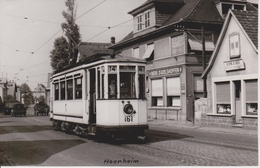 67 - HOENHEIM - TRAMWAY - CARTE PHOTO - LIGNE 4/14 - France