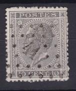 N° 17 LP 41 BINCHE - 1865-1866 Linksprofil