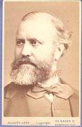 Charles Gounod (1817-1893) -  Compositeur -Très Rare Photo Albuminée Dédicacée - Fotos Dedicadas