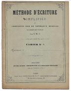 METHODE D'ECRITURE SIMPLIFIEE - CAHIER N° 5 - Manuskripte