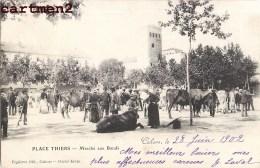 CAHORS MARCHE AUX BOEUFS SUR LA PLACE THIERS 46 LOT - Cahors