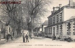 CARJAC ECOLE LAÏQUE DE GARCONS 46 LOT - France