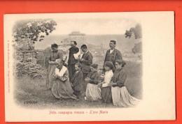 IBJ-06  Nella Campagna Romania, L'Ave Maria. Pioneer. Non Ha Viagiatta. - Italie