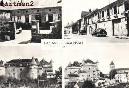LACAPELLE-MERIVAL MULTIVUES POMPE A ESSENCE AUTOMOBILE 46 LOT - Lacapelle Marival