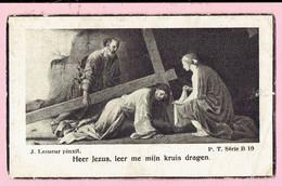 Bidprentje - Cornelius Joannes Hollanders Wed. Cornelia Dymphna Verschueren Echtg. Anna Sprangers - Meerle 1882 - 1942 - Images Religieuses