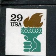 207623105 USA 1991 ** MNH  SCOTT  2531a  2531 A Liberty Torch - Estados Unidos
