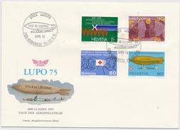 Sonderstempel 855 Luzern Fisa Kongress - Illustrierter Sonderbrief - Poststempel