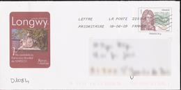 D1084 Entier / Stationery / PSE - PAP Vauban - Mairie De Longwy, Candidate Au Patrimoine Mondial De L'UNESCO - PAP:  Varia (1995-...)