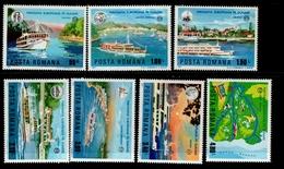 Europa Sympathieausgaben Ungarn 3484 - 3490 Donau Schiffahrt MNH Neuf ** Postfrisch - Emissioni Congiunte