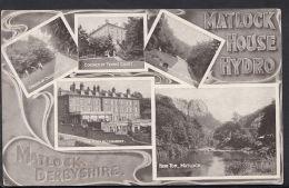 Derbyshire Postcard - Views Of Matlock House Hydro, Matlock   RS2600 - Derbyshire