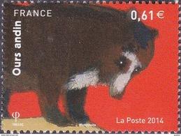 France N° 4844 ** Nature - Animal -> Ours Andin - Frankrijk