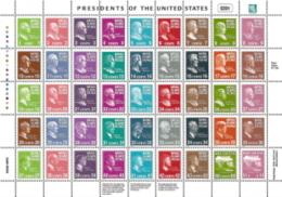 Marshall Islands, Scott 2014 # 875,  Issued 2005,  Sheet Of 45,  MNH,  Cat $ 31.00, Presidents - Marshall Islands