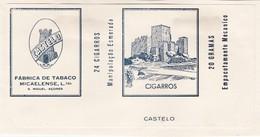 PORTUGAL AÇORES AZORES TOBACCO LABEL - CASTELO  - FABRICA DE TABACOS MICAELENSE - Around Cigars