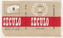 PORTUGAL AÇORES AZORES TOBACCO LABEL - SÉCULO  - FABRICA DE TABACOS MICAELENSE - Around Cigars